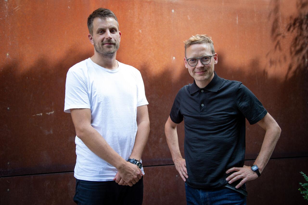 SebastianKemmler (left) and JonHoekstra (slightly further left)